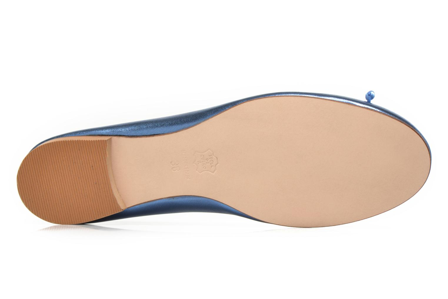 Ballet pumps Anna Volodia Luna Blue view from above
