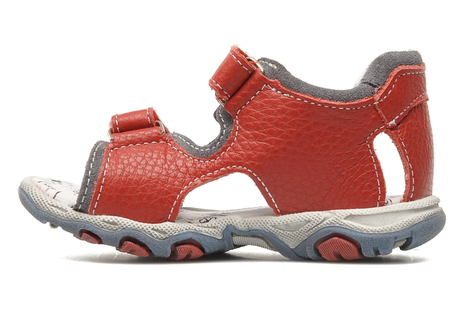 Sandals Bopy BOMBO Red front view