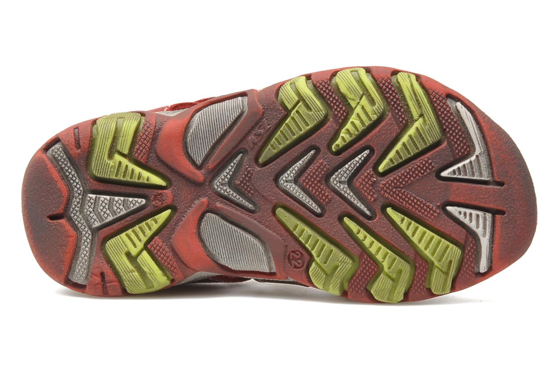 Sandalen Bopy BROC rot ansicht von oben