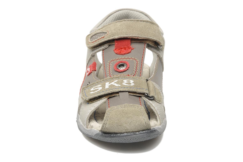 Sandali e scarpe aperte Bopy CLEDER Grigio modello indossato