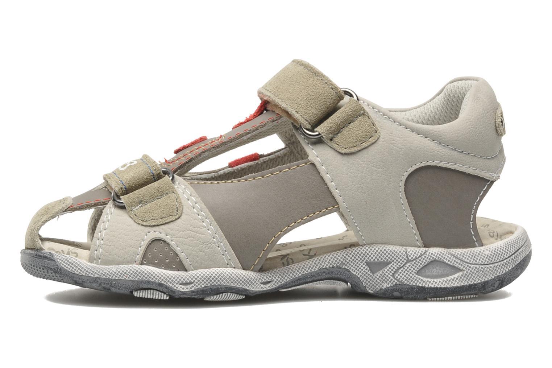 Sandali e scarpe aperte Bopy CLEDER Grigio immagine frontale