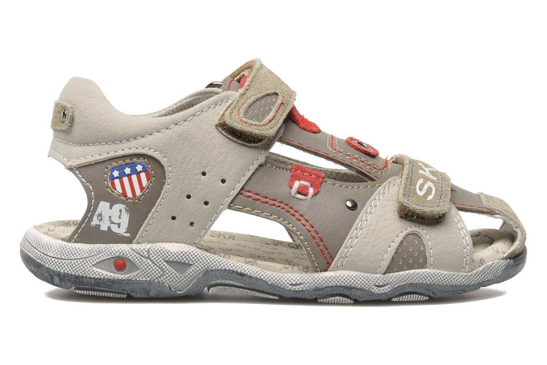 Sandals Bopy CLEDER Grey back view