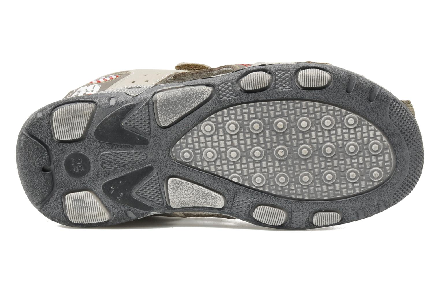 Sandals Bopy CLEDER Grey view from above