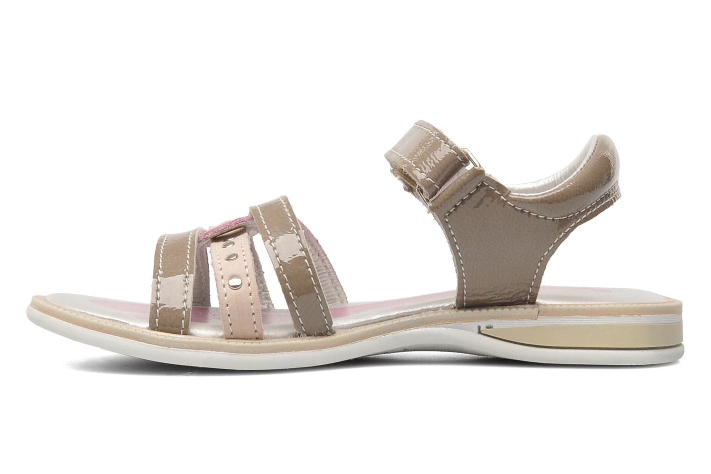 Sandalen Bopy ETOI braun ansicht von vorne