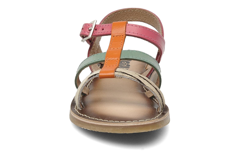 Sandales et nu-pieds Bopy FABIOLA Multicolore vue portées chaussures