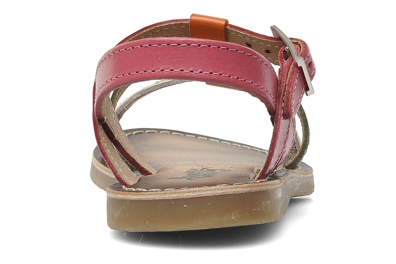 Sandales et nu-pieds Bopy FABIOLA Multicolore vue droite