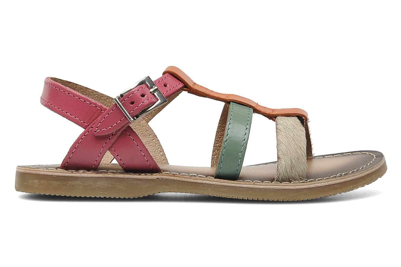 Sandales et nu-pieds Bopy FABIOLA Multicolore vue derrière