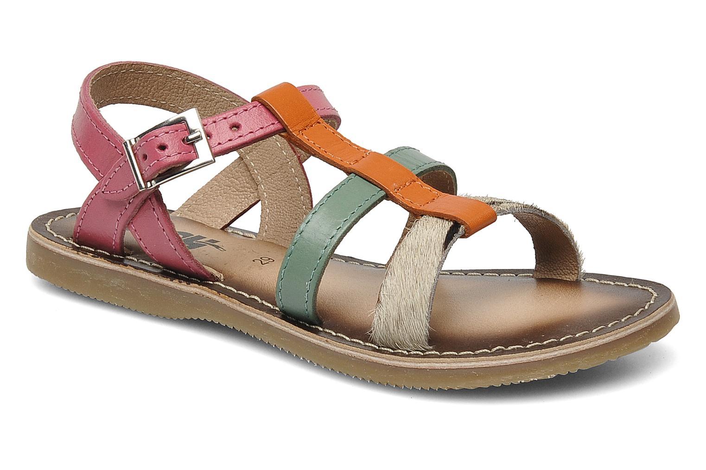Sandales et nu-pieds Bopy FABIOLA Multicolore vue détail/paire