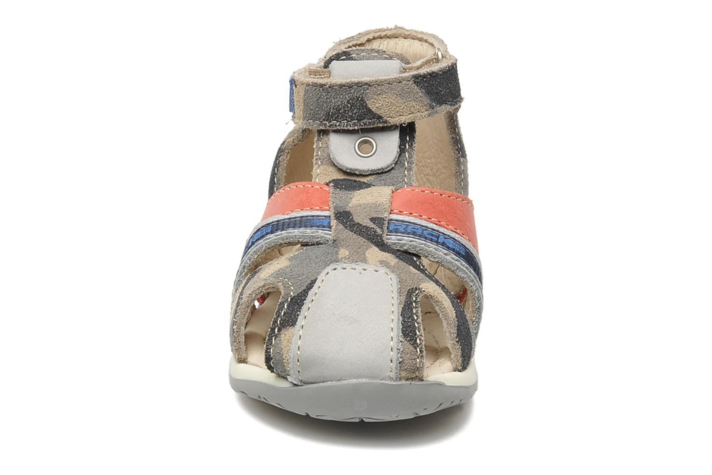 Sandales et nu-pieds Bopy ZADAO Gris vue portées chaussures