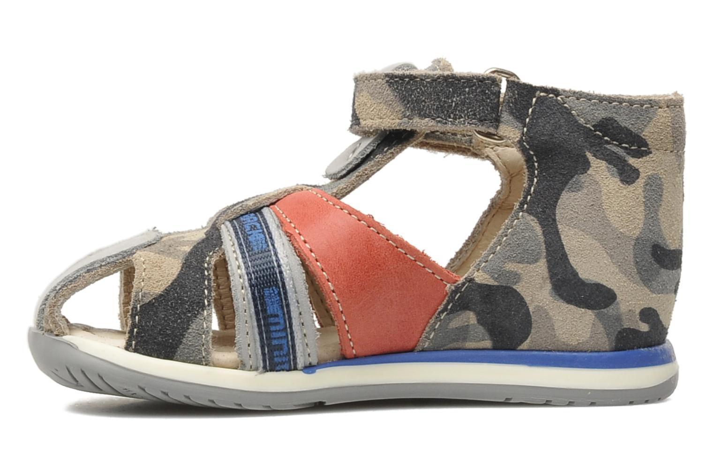 Sandalen Bopy ZADAO grau ansicht von vorne