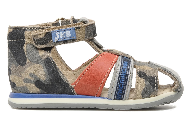 Sandalen Bopy ZADAO grau ansicht von hinten