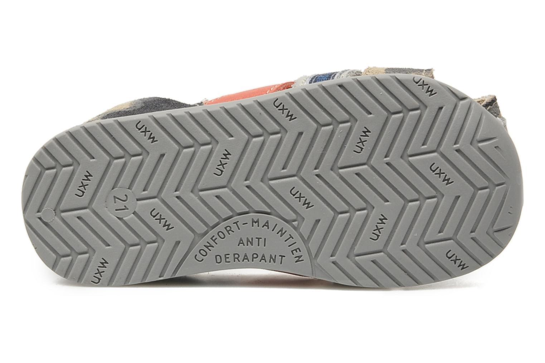 Sandalen Bopy ZADAO grau ansicht von oben