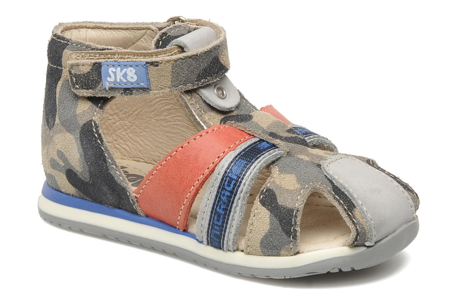 Sandals Bopy ZADAO Grey detailed view/ Pair view