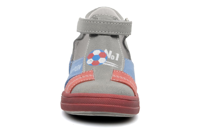 Sandales et nu-pieds Bopy ZIBERI Gris vue portées chaussures