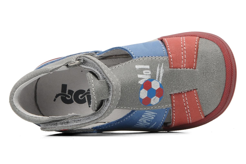 Sandali e scarpe aperte Bopy ZIBERI Grigio immagine sinistra