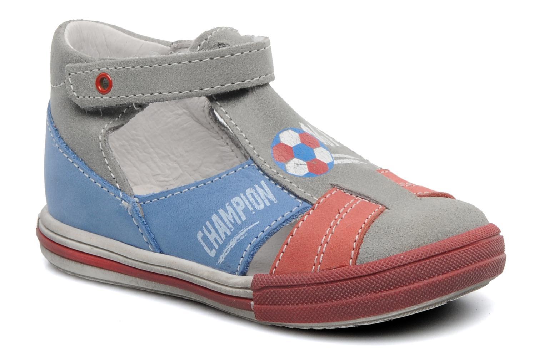 Sandales et nu-pieds Bopy ZIBERI Gris vue détail/paire