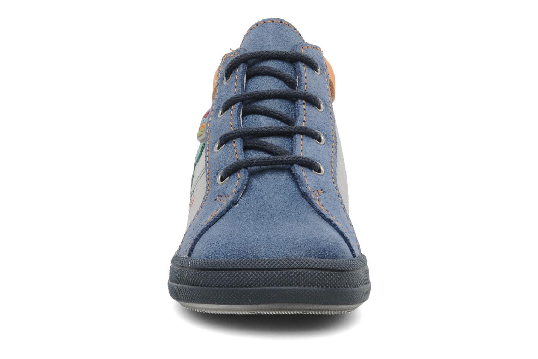 Baskets Bopy ZOPICAL Bleu vue portées chaussures