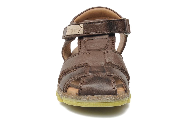 Sandales et nu-pieds Bisgaard Bobo Marron vue portées chaussures