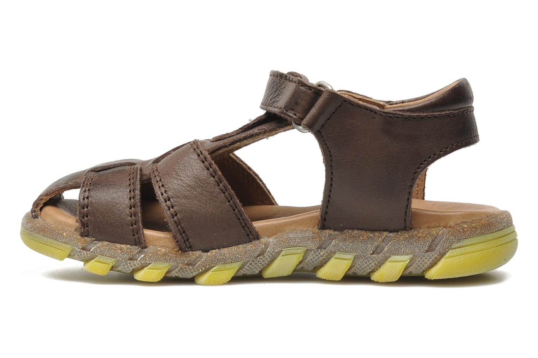 Sandales et nu-pieds Bisgaard Bobo Marron vue face