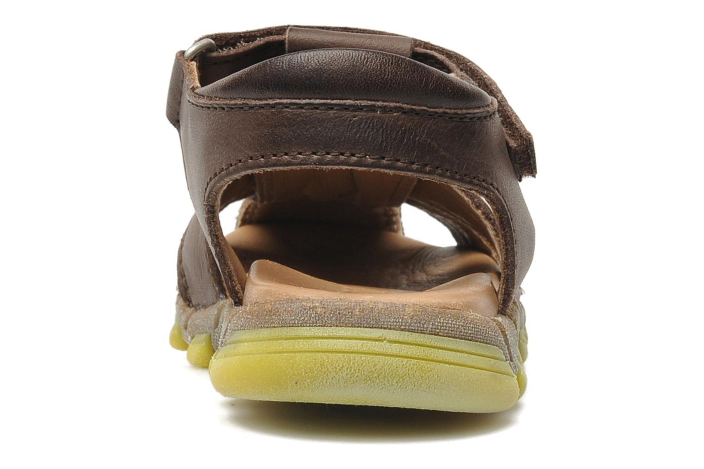 Sandales et nu-pieds Bisgaard Bobo Marron vue droite