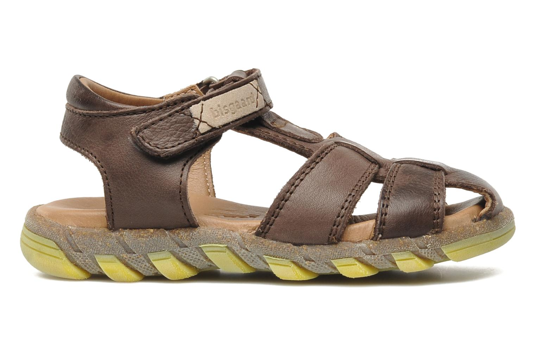 Sandales et nu-pieds Bisgaard Bobo Marron vue derrière