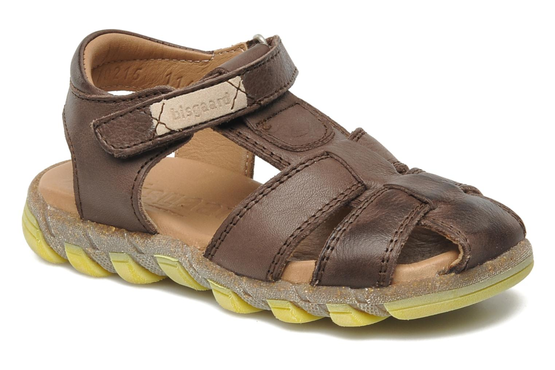 Sandales et nu-pieds Bisgaard Bobo Marron vue détail/paire