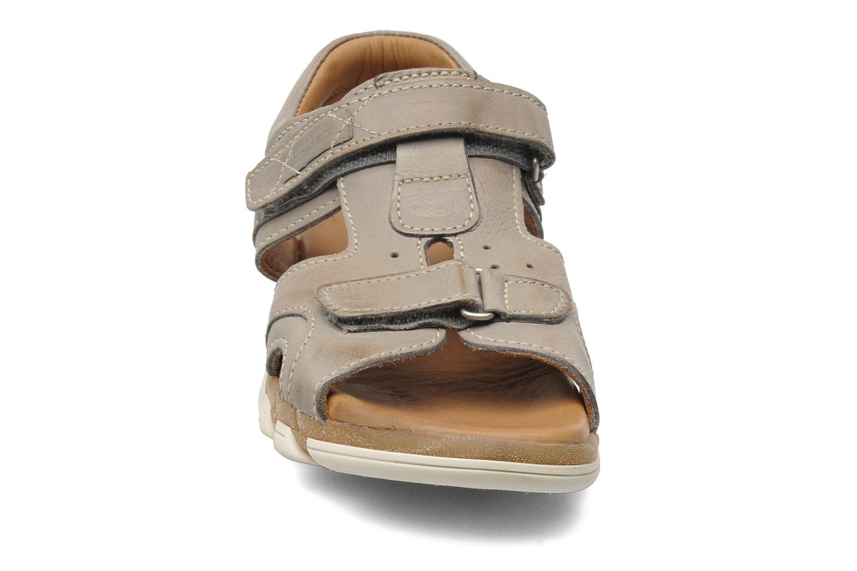 Sandales et nu-pieds Bisgaard Vyna Gris vue portées chaussures