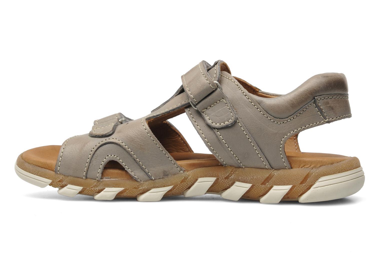 Sandales et nu-pieds Bisgaard Vyna Gris vue face