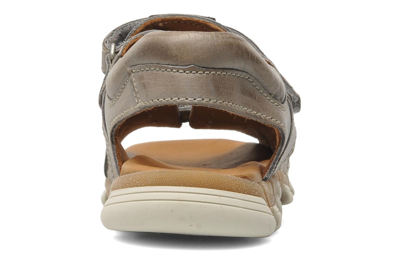 Sandales et nu-pieds Bisgaard Vyna Gris vue droite