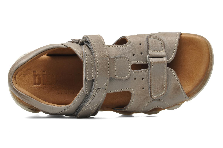 Sandales et nu-pieds Bisgaard Vyna Gris vue gauche