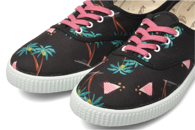 Sneakers Victoria Victoria Palmeras Zwart 3/4'