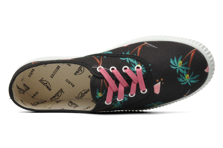Sneakers Victoria Victoria Palmeras Zwart links