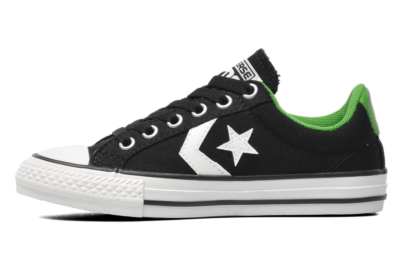 Sneakers Converse SP Ev Lacet Ox K Zwart voorkant