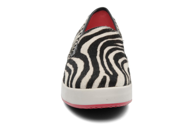 Sneaker Geox By Patrick Cox D MODESTY C beige schuhe getragen