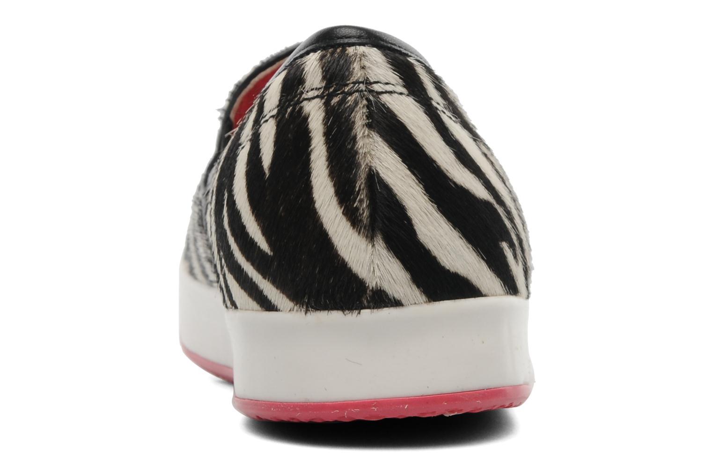Sneakers Geox By Patrick Cox D MODESTY C Beige Bild från höger sidan