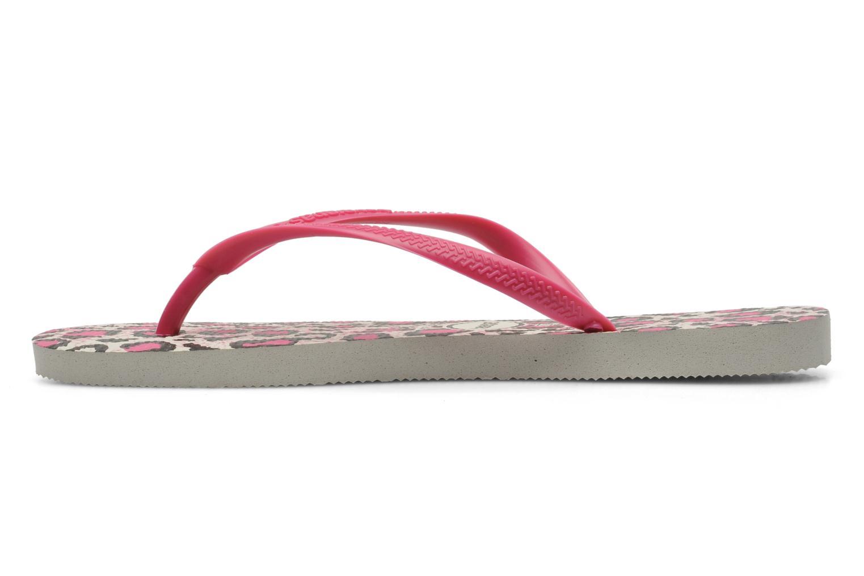 Flip flops & klipklapper Havaianas Slim Animals Pink se forfra