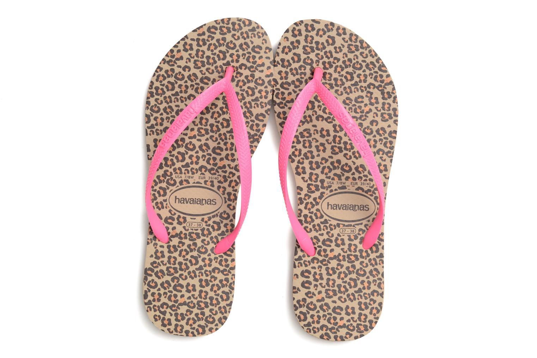 Slim Animals Sand Grey Pink