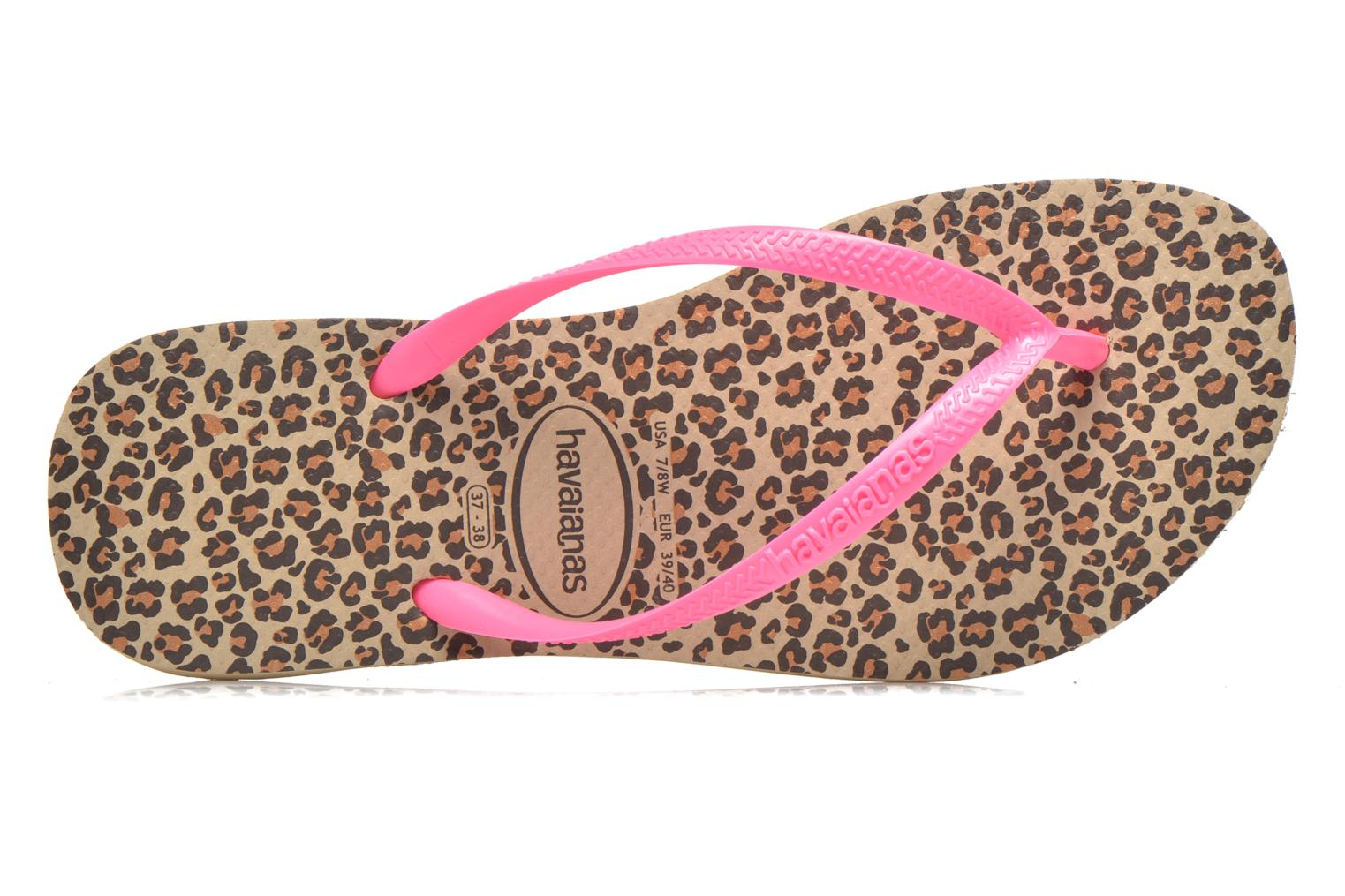 Chanclas Havaianas Slim Animals Multicolor vista lateral izquierda