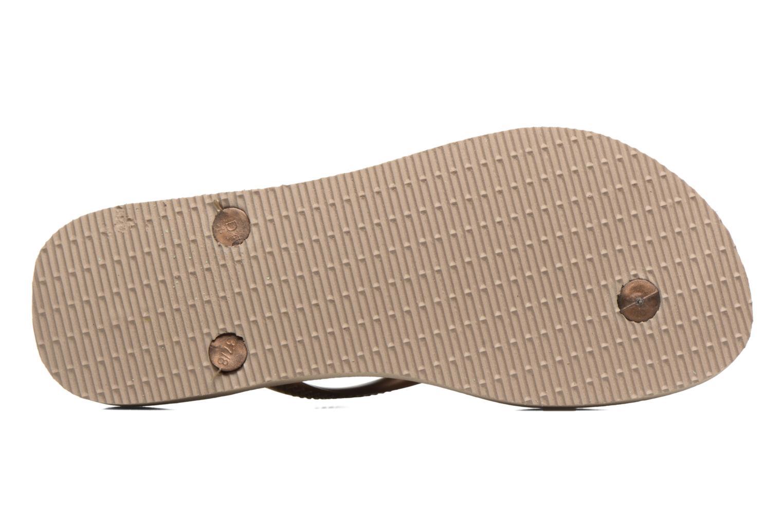 Flip flops & klipklapper Havaianas Slim Animals Guld og bronze se foroven