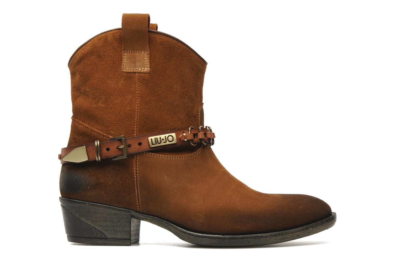 Bottines et boots Liu Jo Texano Basso Antigone Marron vue derrière