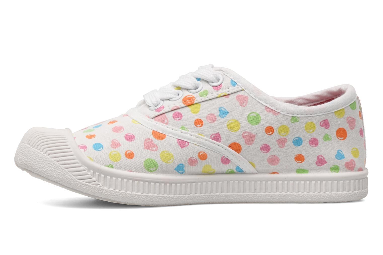 Baskets Hello Kitty HK JOKE Blanc vue face