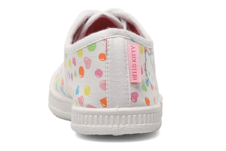 Baskets Hello Kitty HK JOKE Blanc vue droite
