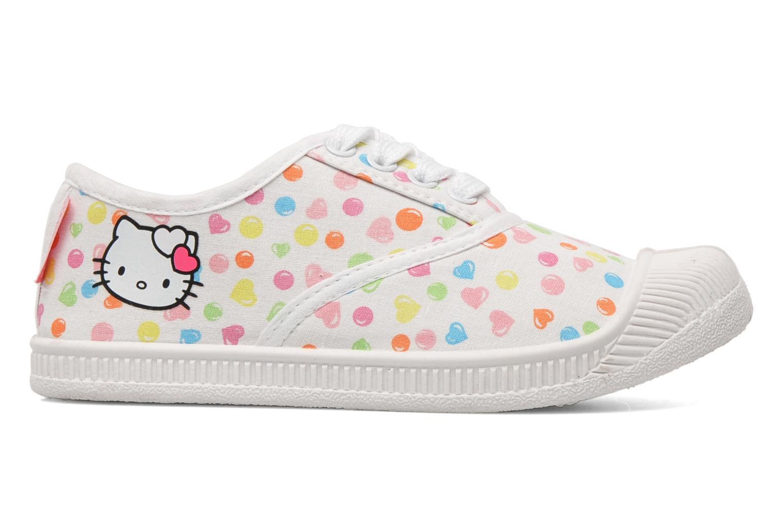 Baskets Hello Kitty HK JOKE Blanc vue derrière