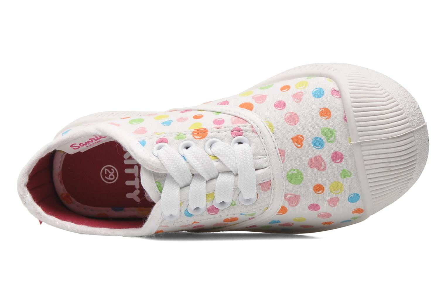 Trainers Hello Kitty HK JOKE White view from the left