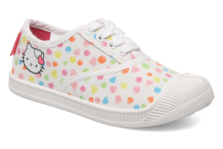 Sneakers Hello Kitty HK JOKE Vit detaljerad bild på paret