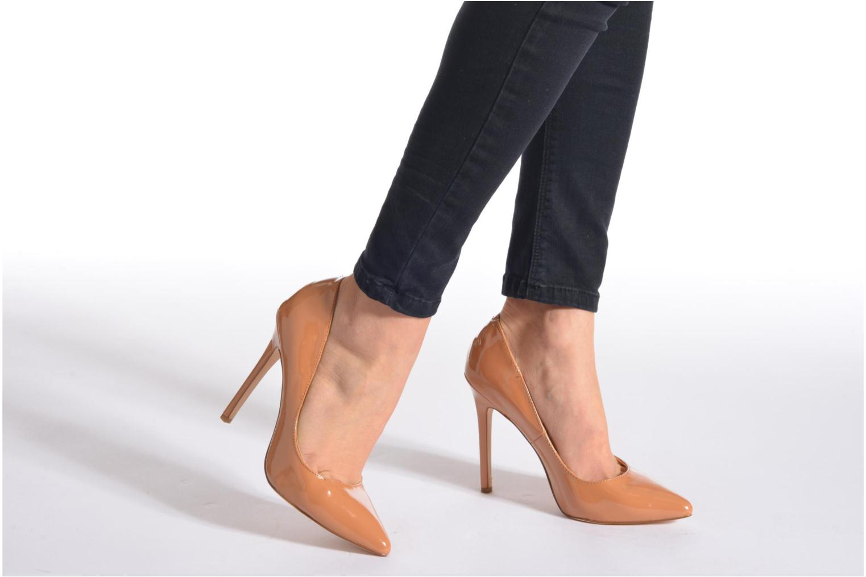 High heels La Strada Janie Pink view from underneath / model view