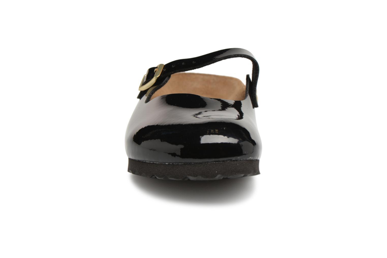 Mules et sabots Birkenstock Maria Flor W Noir vue portées chaussures