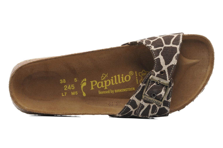 Clogs & Pantoletten Papillio Madrid Textile W braun ansicht von links
