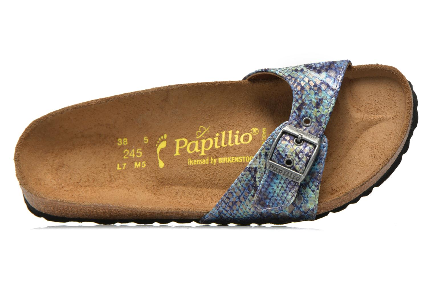 Wedges Papillio Madrid Textile W Blauw links