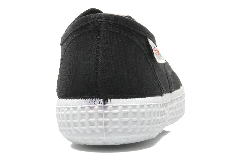 Baskets Victoria Inglesa Lona Noir vue droite